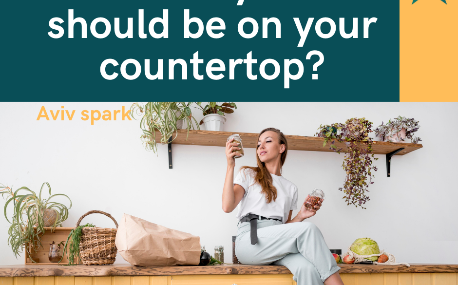 5-How many items on your countertop?